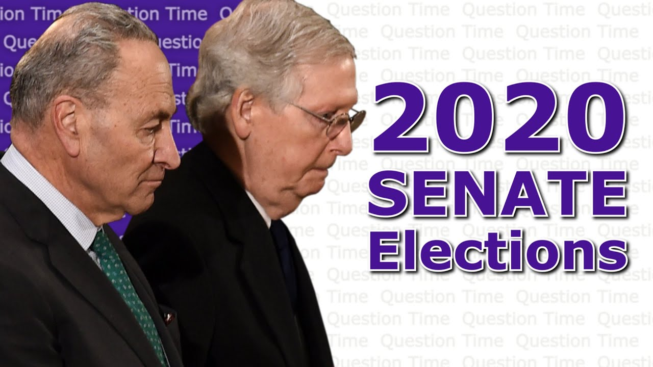 2020 Senate Elections - Can Democrats Take Back the Senate? | QT Politics - YouTube