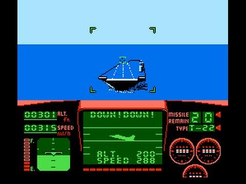 Так ли сложно посадить самолёт в игре TOP GUN?