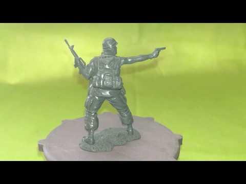 Солдатик Plastic Platoon 25th Infantry Division