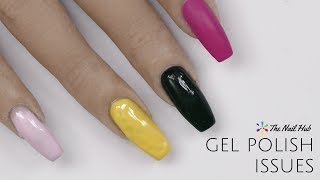Top 5 Gel Polish Issues & How to Fix Them