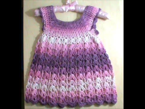 37d8725ac5b1 Πλεκτό καλοκαιρινό φορεματάκι 1ο μέρος - YouTube