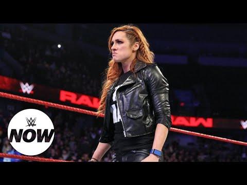 WWE Now Arabic: الجمهور يتفاعل مع إيقاف بيكي لينش