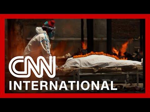 Crematoriums overflow as coronavirus devastates India