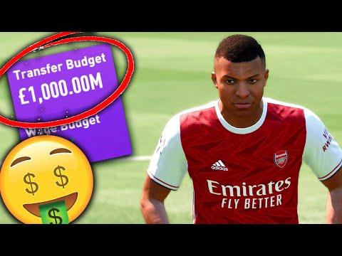 I Gave Arsenal 1 BILLION DOLLARS but I still failed...(FIFA 21 Career Mode) |