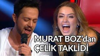 Murat Boz'dan Müthiş Çelik Taklidi - Meyhaneci | O Ses Türkiye