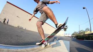 KEEN RAMPS CREW skates their Tranny Ledge