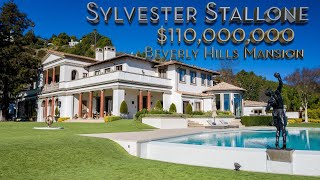 Sylvester Stallone's $110 MILLION Beverly Hills Mansion