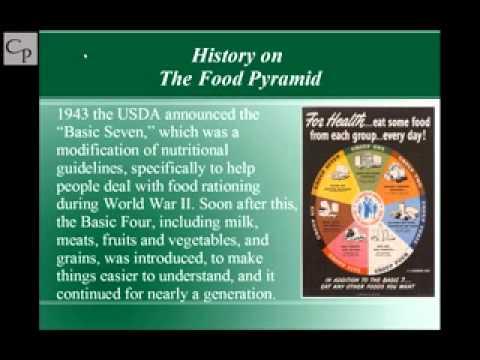 History on the Food Pyramid