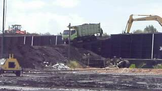 Coal Loading to Barge at Jetty South Kalimantan