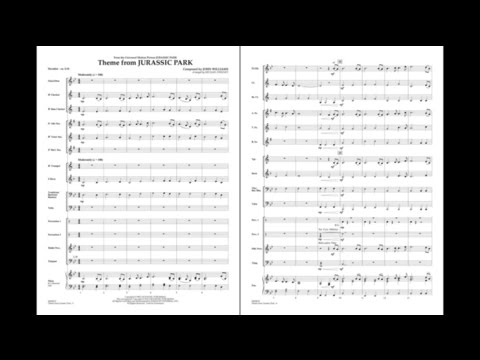 Theme from Jurassic Park by John Williams/arr. Michael Sweeney
