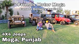 Modified | Open Willy Jeeps | left Hand Drive | Mahindra Mm550 Into New Thar