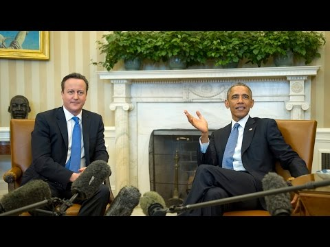 Obama, British prime minister hold news conference
