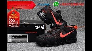 b52536348ed7 Nike Air VaporMax 2018 Flyknit Alta Calidad 1 1 Made in China