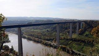 Moseltalbrücke bei Winningen [HD]