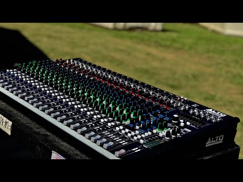 Alto Professional Live 2404 Mixer Right Main Mix Output Problem