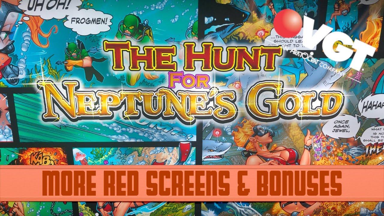 Neptunes Gold Slot Machine