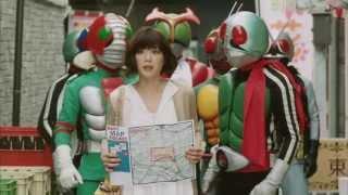 上野樹里 ダイワハウス CM Juri Ueno/KAMEN RIDER | DAIWA HOUSE commer...