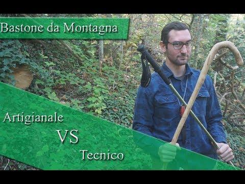 Bastoni Da Montagna Artigianali.Bastone Da Montagna Artigianale Vs Tecnico Youtube