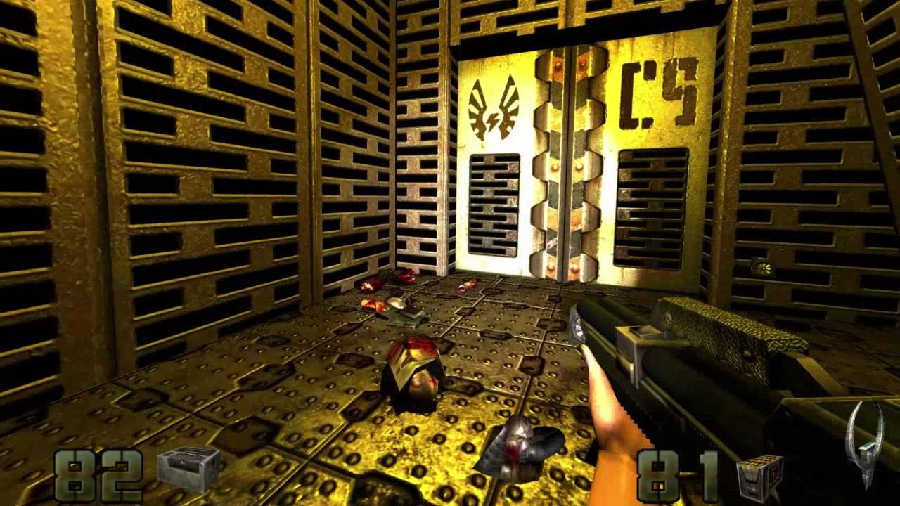 Quake 2 Berserker Remake | Unit 1 Part 5 (Start Of Unit 2)