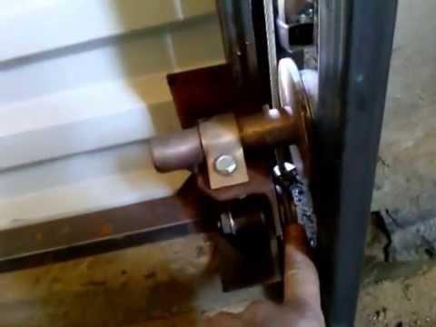 видео: Подъёмные ворота своими руками