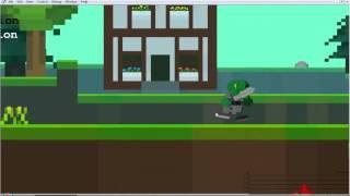 Cube World 2D .Первая неделя создания игры.