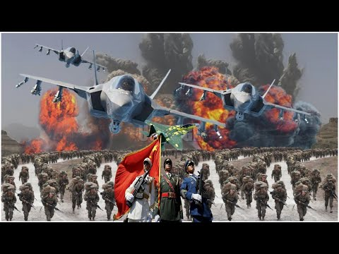 Horrible (Dec 21,2020) China Deploy 4 Missiles loaded aircraft, 230 Troops & 30 Tank Near Taiwan