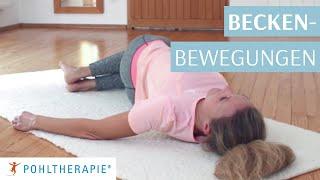 Übung: Beckenbewegungen