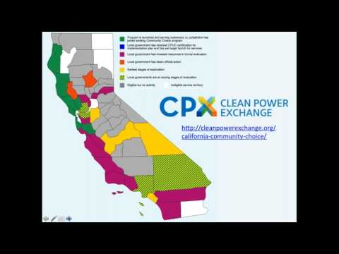 Webinar #2: CCE Expansion in California and its Relation to Investor-Owned Utility Procurement