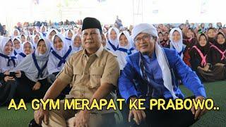 Sambut Prabowo | Aa Gym Beri Sinyal Akan Merapat | Tanda-tanda PADI akan Menang