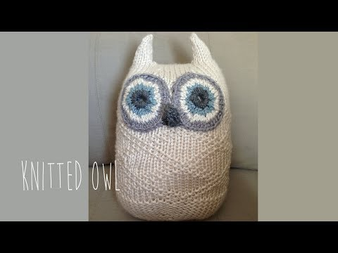 KNITTING TUTORIAL- BIG OWL