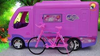 Авто - домик для куклы барби / Auto - house for Barbie dolls(Авто-домик для куклы барби EJ 80101 R / Barbie Doll / Auto-Camping Игрушка предоставлена интернет магазином