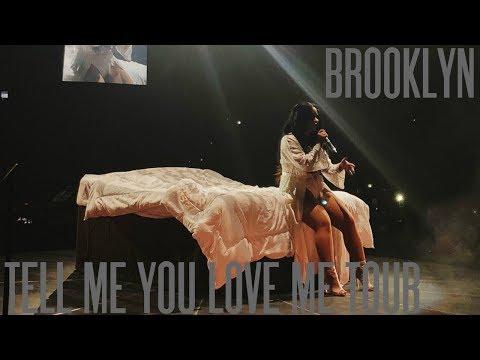 Tell Me You Love Me Tour Vlog: Brooklyn, NY