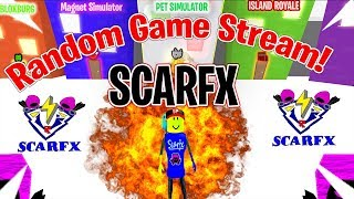LIVE ROBLOX BEATBOXER PLAYING RANDOM GAMES WITH SUBS/VIEWERS STREAM (1/19/19)
