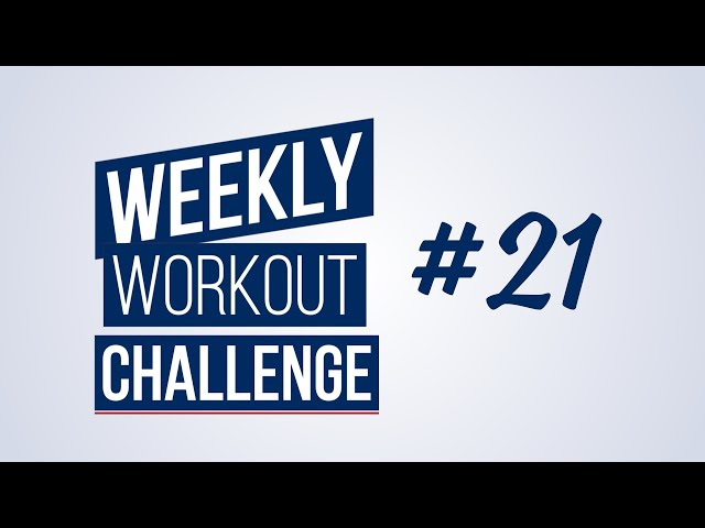 Weekly Workout Challenge #21 | Renaud Center
