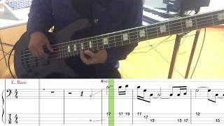 Red Hot Chili Peppers/Aeroplane(Bass cover)5線譜&Tab譜付き_歌無しVer