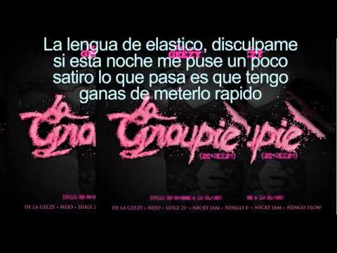 La groupie (letra)