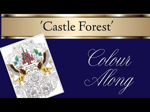 Inky Ivy Castle Forest Colour Along | Part Two