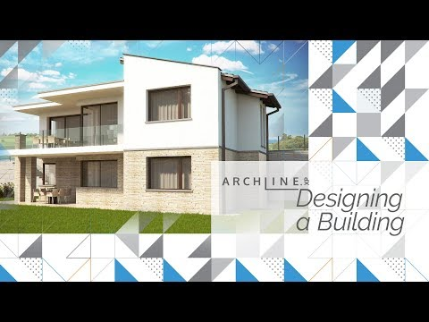 Designing a Building – an ARCHLine.XP Foundation Course
