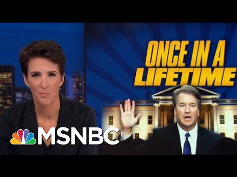 GOP Carries Brett Kavanaugh Weight To Protect Legally Precarious Trump | Rachel Maddow | MSNBC