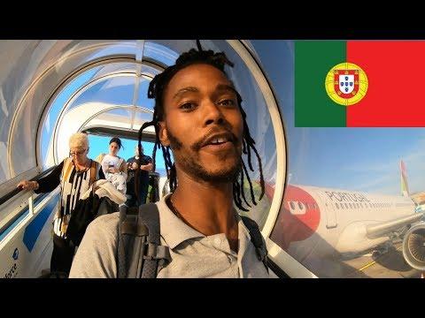 Bye Bye London Flying To Lisbon Portugal
