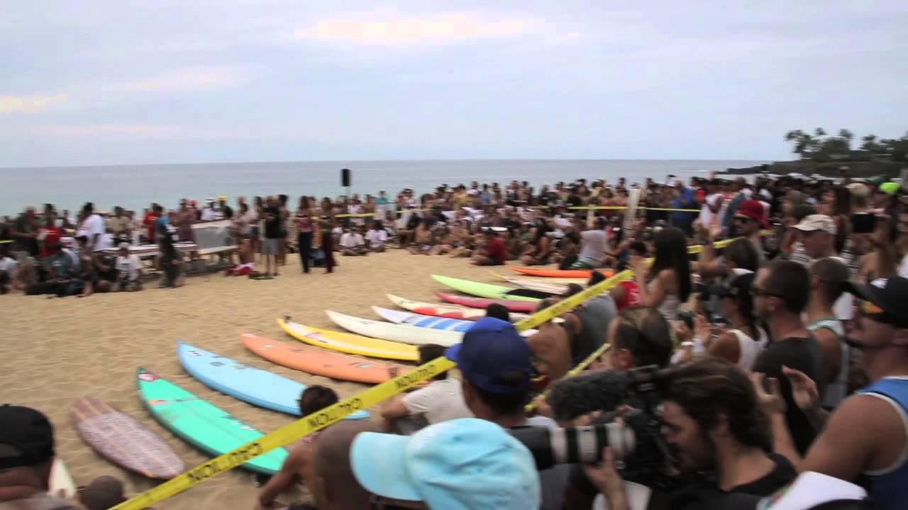 Eddie Aikau Invitational with Makua Rothman   Hawaii 2012 ...