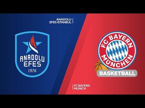 Anadolu Efes Istanbul - FC Bayern Munich Highlights | Turkish Airlines EuroLeagu