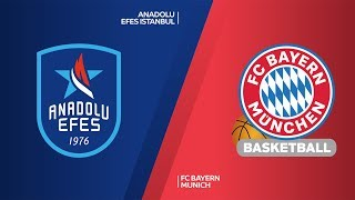 Anadolu Efes Istanbul - FC Bayern Munich Highlights | Turkish Airlines EuroLeague, RS Round 11