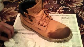 Как почистить обувь из нубука(, 2014-11-26T16:11:59.000Z)