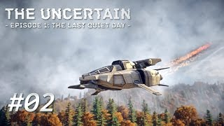 THE UNCERTAIN [002] [Das abgestürzte Raumschiff] [Let's Play Gameplay Deutsch German] thumbnail