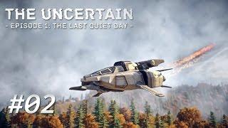 THE UNCERTAIN [002] [Das abgestürzte Raumschiff] [Let's Play Gameplay Deutsch German] thumbnail