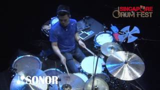 ECHA SOEMANTRI  Amazing Video Angles at Ultimate Drummers Weekend 2016
