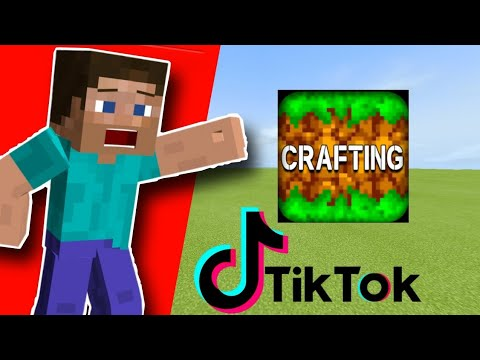 Minecraft TikTok Compilation in Crafting and Building