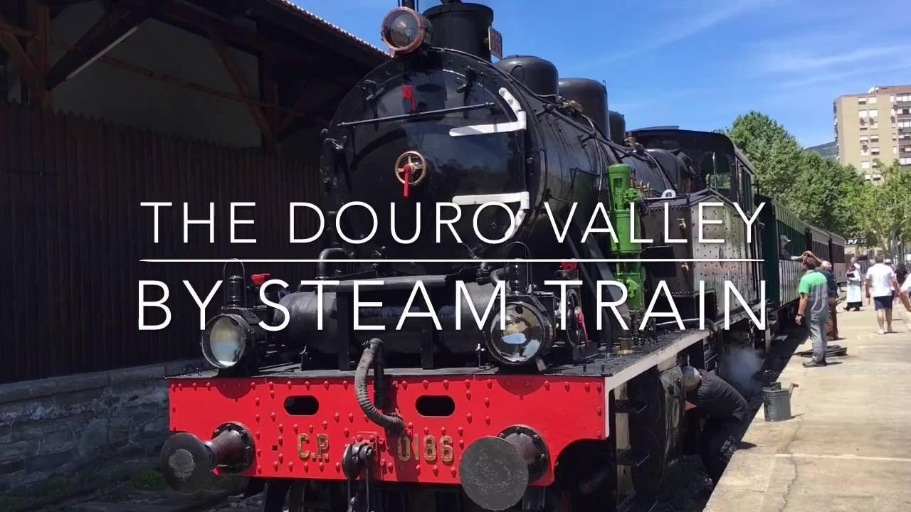 Douro Valley Steam Train journey
