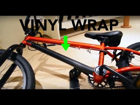 How To Vinyl Wrap A Mountain Bike Doovi